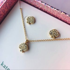 🌸 Kate spade earring and jewelry set